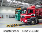 Servicing And Repairing Trucks...