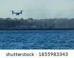 A Bell Boeing V 22 Osprey...