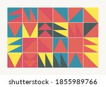 modern artwork of abstract... | Shutterstock .eps vector #1855989766