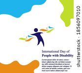 international day of person... | Shutterstock .eps vector #1856097010