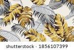 botanical seamless pattern ... | Shutterstock .eps vector #1856107399