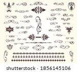 set of vintage elements... | Shutterstock .eps vector #1856145106