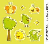 Big Cute Summer Sticker Pack ...