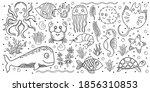 big vector children baby set of ...   Shutterstock .eps vector #1856310853
