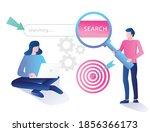 flat concept isometric... | Shutterstock .eps vector #1856366173