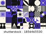 modern artwork of abstract... | Shutterstock .eps vector #1856465530