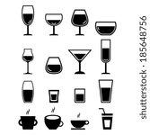 drink icon | Shutterstock .eps vector #185648756
