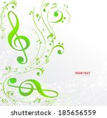 Notes Music Background