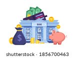 financial or personal budget...   Shutterstock .eps vector #1856700463