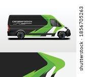 van wrap design livery . ready...   Shutterstock .eps vector #1856705263