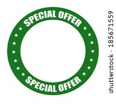 Stamp With Text Special Offer...