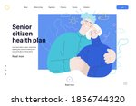 medical insurance web page... | Shutterstock .eps vector #1856744320