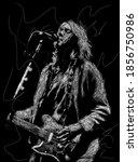 Scribble Art  Kurt Cobain Is A...