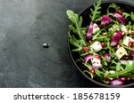 fresh spring salad with rucola  ...