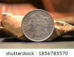 1921 Morgan Silver Dollar With...