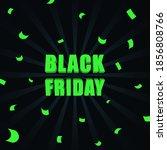 black friday sale banner.... | Shutterstock .eps vector #1856808766