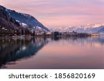 Zell Am See In Winter Evening....