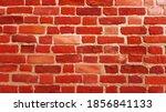 red brick wall texture... | Shutterstock . vector #1856841133