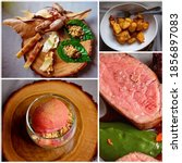 A Collage Of Bush Tucker Foods...