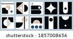 set of ten colorful aesthetic... | Shutterstock .eps vector #1857008656