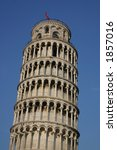 Leaning Tower Of Pisa Detail