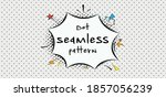 seamless background with black...   Shutterstock .eps vector #1857056239