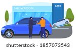 buying  selling  renting cars.... | Shutterstock .eps vector #1857073543