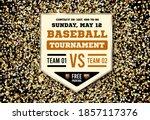 baseball plate on the...   Shutterstock .eps vector #1857117376
