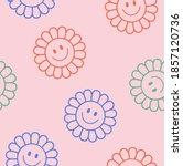 seamless retro colourful...   Shutterstock .eps vector #1857120736