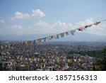 Panoramic View On Kathmandu...