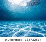 Underwater Shot Of The Swimmin...