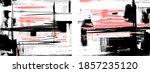 black and pink cross hatching... | Shutterstock .eps vector #1857235120