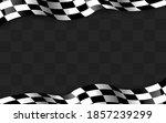 waving checkered flag along the ... | Shutterstock .eps vector #1857239299