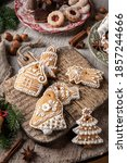 Decorated Gingerbread Christma...