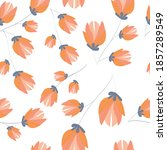 elegant floral pattern in small ...   Shutterstock .eps vector #1857289549