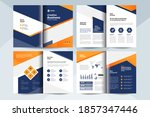 creative business brochure... | Shutterstock .eps vector #1857347446