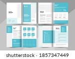 creative business brochure... | Shutterstock .eps vector #1857347449
