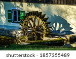 Wheel Of An Old Watermill