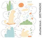 vector set of cartoon...   Shutterstock .eps vector #1857440650