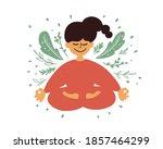 cartoon female character...   Shutterstock .eps vector #1857464299