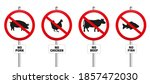 no pork  chicken  beef and fish....   Shutterstock .eps vector #1857472030