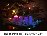Advent Concept With Christmas...