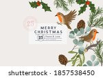 winter christmas vintage layout ... | Shutterstock .eps vector #1857538450
