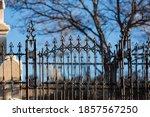 Wrought Iron Gothic Fences...