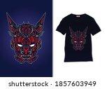 Japanese Devil Evil Mask...