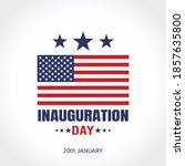 inauguration day in united... | Shutterstock .eps vector #1857635800