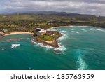 Aerial View Of Beautiful Oahu...