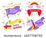 party label vector logo for... | Shutterstock .eps vector #1857708790