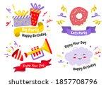 party label vector logo for... | Shutterstock .eps vector #1857708796
