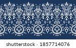 ikat geometric folklore... | Shutterstock .eps vector #1857714076